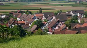 Ansicht Hirschen-Ensemble Oberstammheim