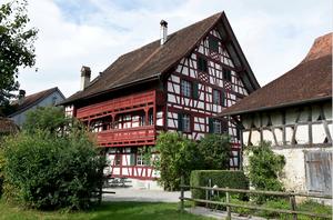 Garten des Gasthof zum Hirschen in Oberstammheim