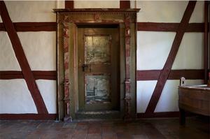 Historische Türe des Gasthof zum Hirschen in Oberstammheim
