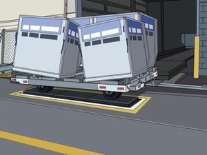 Computer animation illustrating the improper use of ULD