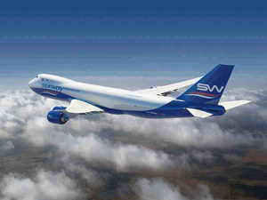 Silkway operates 4 Boeing 747-8 freighters  -  photo: SW