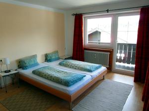 Ferienwohnungen KONRAD, Nr. 3 Hohe Salve: Schlafzimmer 1