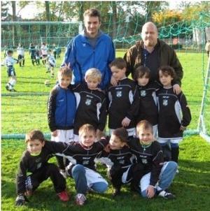 F3 Jugend - Jan Mathies, Laurin, Paul, Lukas, Felix, Dennis, Luca, Adrian und Nicolas mit Holger Bechtold und Thomas Radermacher