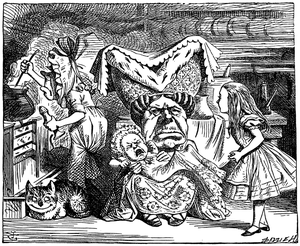 Illustration de John Tenniel, 1865.