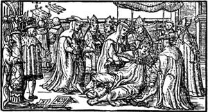L'accouchement de Jeanne, Des Dames de renom, Boccace, XIVème siècle