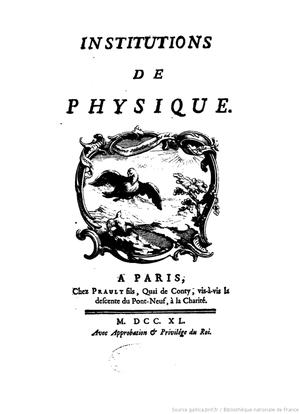 édition de 1740