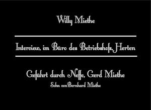 Gerd Miethe City-TV Filmproduktion Marl Polsum