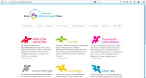 Startseite Förderverein KinderPalliativNetzwerk Essen e.V.