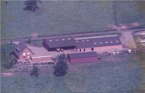Der Hof um 1980
