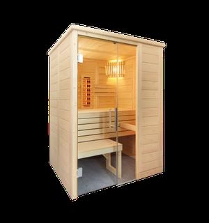 Sentiotec Sauna Alaska Mini Infra+ Saunatechnik Saunazubehör