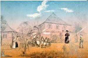 1857 - Mission à l'Ile de Roseau - Antilles