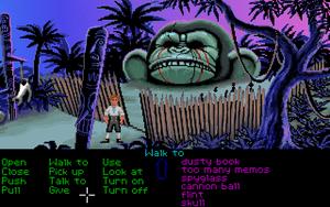 La segunda cabeza de mono más grande