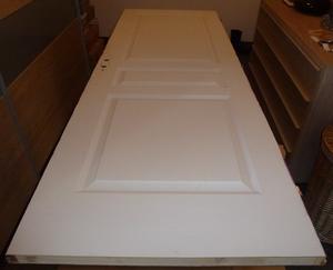 Comment peindre une porte sans trace au bout du rouleau for Peindre sans traces