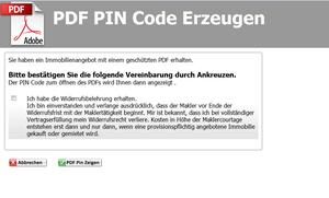 PIN Code Erzeugen