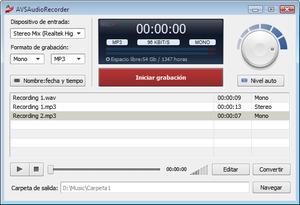 AVS Audio Recorder.