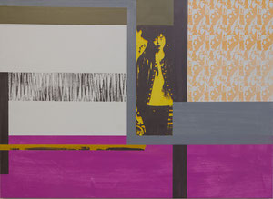 Japan, 2012, Painting, Screenprint on Canvas, 150 x 110 cm