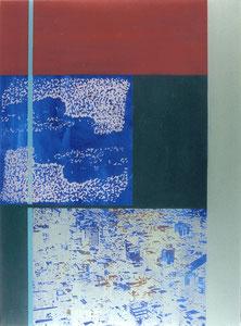 Tokyo, 1997, Painting, Screenprint on Canvas, 150 x 110 cm