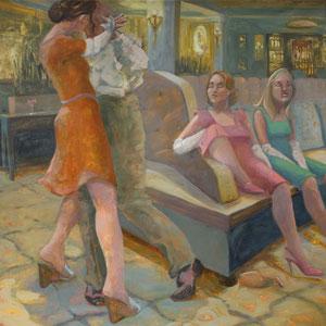"""Le Danse, oil on canvas, 60""""x60"""""""