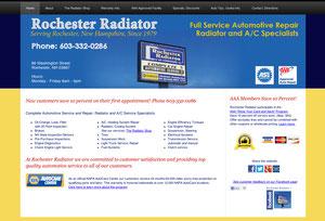 Automotive Service Website
