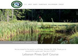 Golf Course Website
