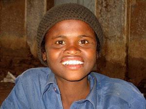 Lächeln im Sudan