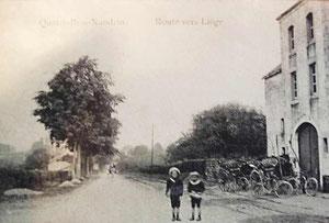 Hotel des Quatre-Bras vers Liège avant 1900