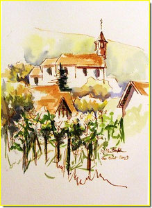 * 11a  Diffenthal (67), village alsace