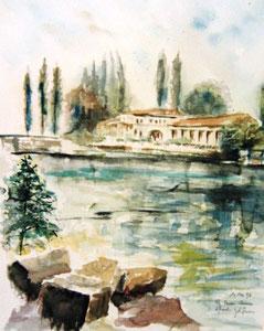 169-  Épinal, La moselle, la Maison Romaine