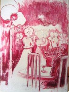 *807-La Croisette d'Hérival,      50 x 70,