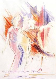 * 814-Crayon de couleur, 20 x 30