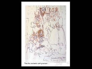 *750- peint en direct, 21 x 30, papier Lana ,180 gr