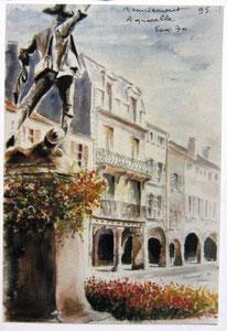 745 -Le Volontaire, 50 x 70  Arches 350 gr,