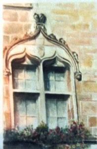 796- Grande aquarelle sur Luxeuil, 50 x 70