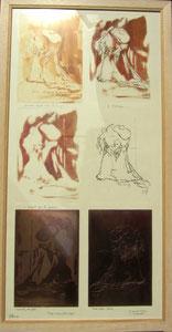 * 745-  Le Carnaval Vénitien de Remiremont, dessin original, gravures,estampes,100 x 50 ,Prix des Conseils Généraux de Lorraine