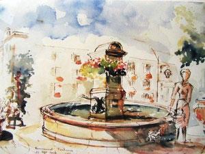 760- La Fontaine des Eléphants