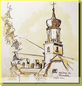 * 4a  Thienrenbach village alsace
