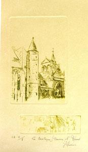 * 175- Estampe sur Épinal  format 20X30 Vélin d'Arches