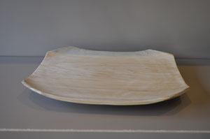 kashi  1尺(足付 )角浅皿 ¥18,000
