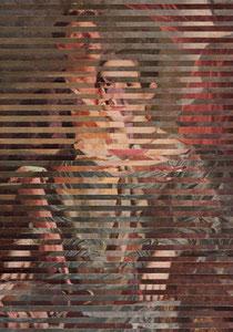 П.И. Котов, 1889-1953; «Портрет скульптора И.Д. Шадра», 1936.  + В.А.Тропинин 1776-1857; «Портрет неизвестной с книгой», 1837.