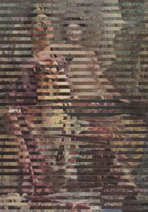 П.И. Котов, 1889-1953; «Портрет скульптора И.Д. Шадра», 1936.  +  М.А. Врубель 1856-1910; «Натурщица в обстановке ренессанса» 1883.