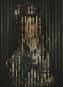 """В.Е. Маковский, """"УКРАИНСКАЯ ДЕВУШКА"""", 1879г.  В.Л. Боровиковский, """"ПОРТРЕТ В.И. АРСЕНТЬЕВОЙ"""", 1795г."""