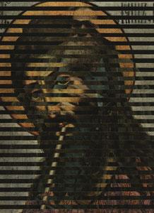 """И.Н. Крамской, """"Крестьянин с уздечкой. Портрет Мины Моисеева"""", 1883г.  + Симон Ушаков, """"ИОАНН КРЕСТИТЕЛЬ ОПЛЕЧНЫЙ ИЗ ДЕИСУСА """", 1660-1670г.г."""