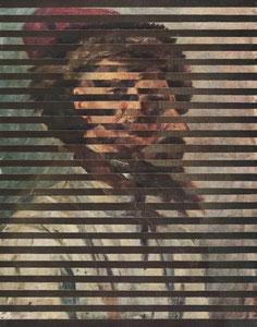 """В.А.Тропинин 1776-1858; """"Портрет украинского крестьянина"""".  +  В.И. Суриков 1848-1916; """"Стрелец в шапке"""" (этюд к картине """"Утро стрелецкой казни""""), 1881."""