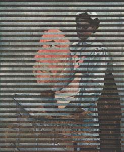 М. В. Нестеров 1862–1942, «Портрет Саши», 1915.   +  И.Ю. Репин, 1844–1930, «Голова сельского жителя». Конец  1870 - начало 1880