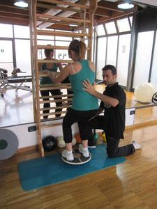 Fisioterapia riabilitazione ginocchio