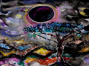 95 Mondfinsternis Afrika - Aqua
