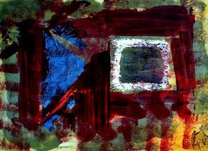 157   Modern Art pink - Experimentelle Acrylmalerei