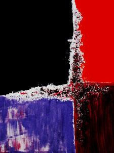83   Crossing - Experimentelle Acrylmalerei