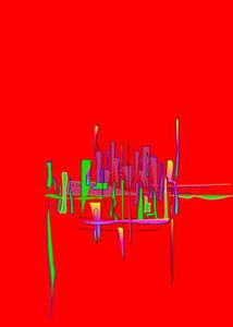 195   Skyline - Computerkomposition