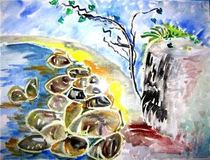 72    Stones - Aqua